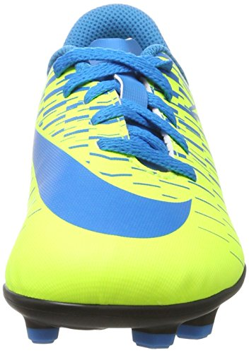 Nike Unisex-Kinder Bravata II FG Fußballschuhe Gelb (Volt/blue Orbit-blue Orbit)