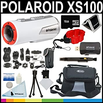 Amazon.com: Polaroid XS100 Extreme Edition HD, 1080p, 16 MP ...