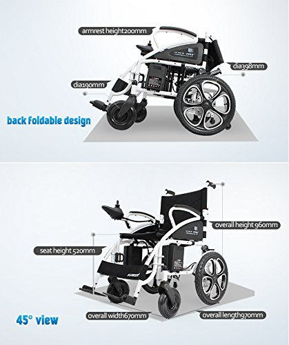 ... Motorized Wheelchairs for Adults Heavy Duty Electric Wheel Chair Power Chair Silla de Ruedas Electrica para Adultos FDA Approved: Health & Personal Care