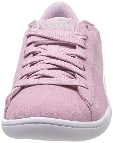 Puma Women's Vikky Low-Top Sneakers, Aruba Blue White 14 Pink (Winsome Orchid-puma White 29)