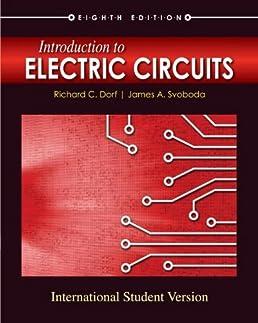 introduction to electric circuits james a svoboda richard c dorf