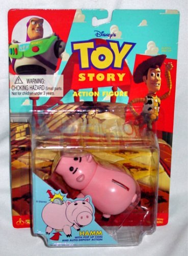 Vintage 1995 Toy Story Hamm Piggy Bank Style Action (Hamm Piggy Bank)