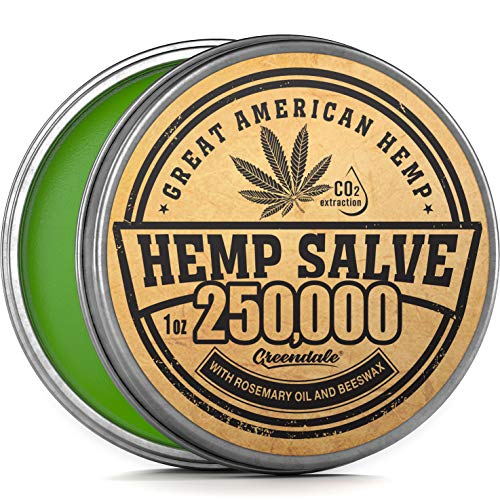 Best Review Of Hemp Oil Salve for Pain Relief - 250,000Mg - Fast Acting & Natural - Knee, Muscle, Jo...