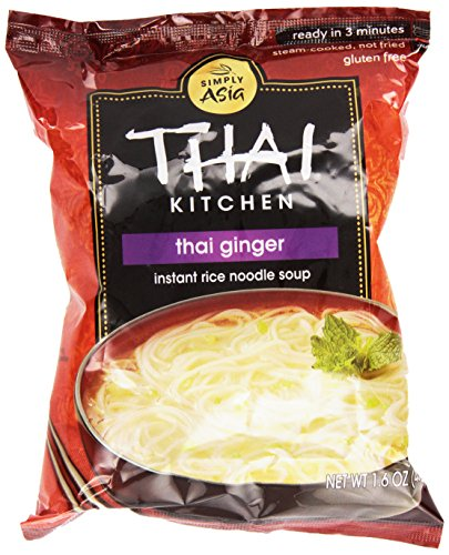 Thai Kitchen, Thai Ginger Instant Rice Noodle Soup, 1.6 (Fried Rice Noodles)