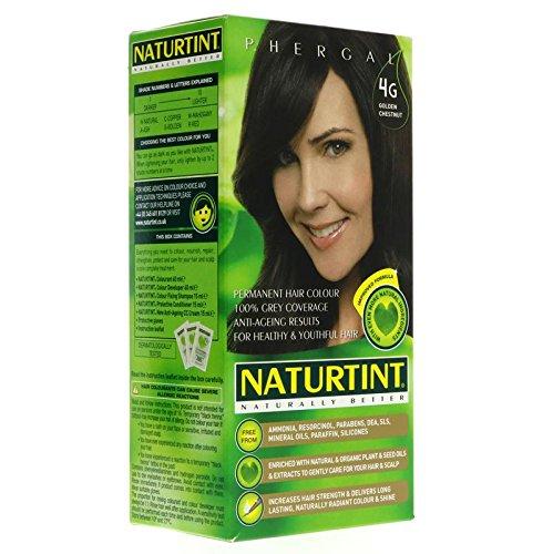Naturtint 4G Permanent Golden Chestnut Haircolor Kit, 4.5 Ounce -- 3 per case. by Naturtint by Naturtint