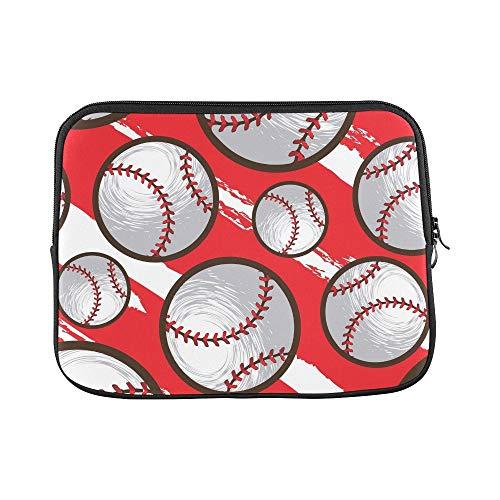 Design Custom Baseball Sleeve Soft Laptop Case Bag Pouch Skin for MacBook Air 11