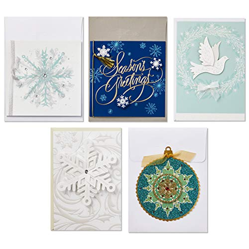 Hallmark Boxed Handmade Christmas Card Assortment (24 Cards and Envelopes) Photo #5
