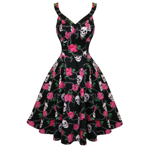 Hearts & Roses - Robe - Femme Noir Noir