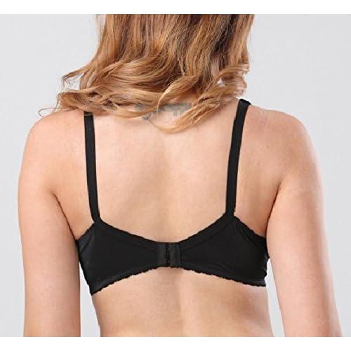 5e5d458e2d2cc Abetteric Women Floral Lace Full Figure Plus-Size Wirefree Push up Bras