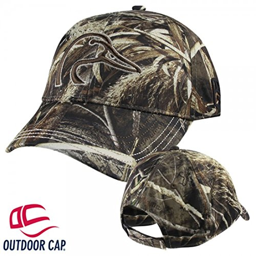 Ducks Unlimited Hat - Ducks Unlimited Marsh Raider Performance Cap Realtree Max-5 Camo Hunting Hat