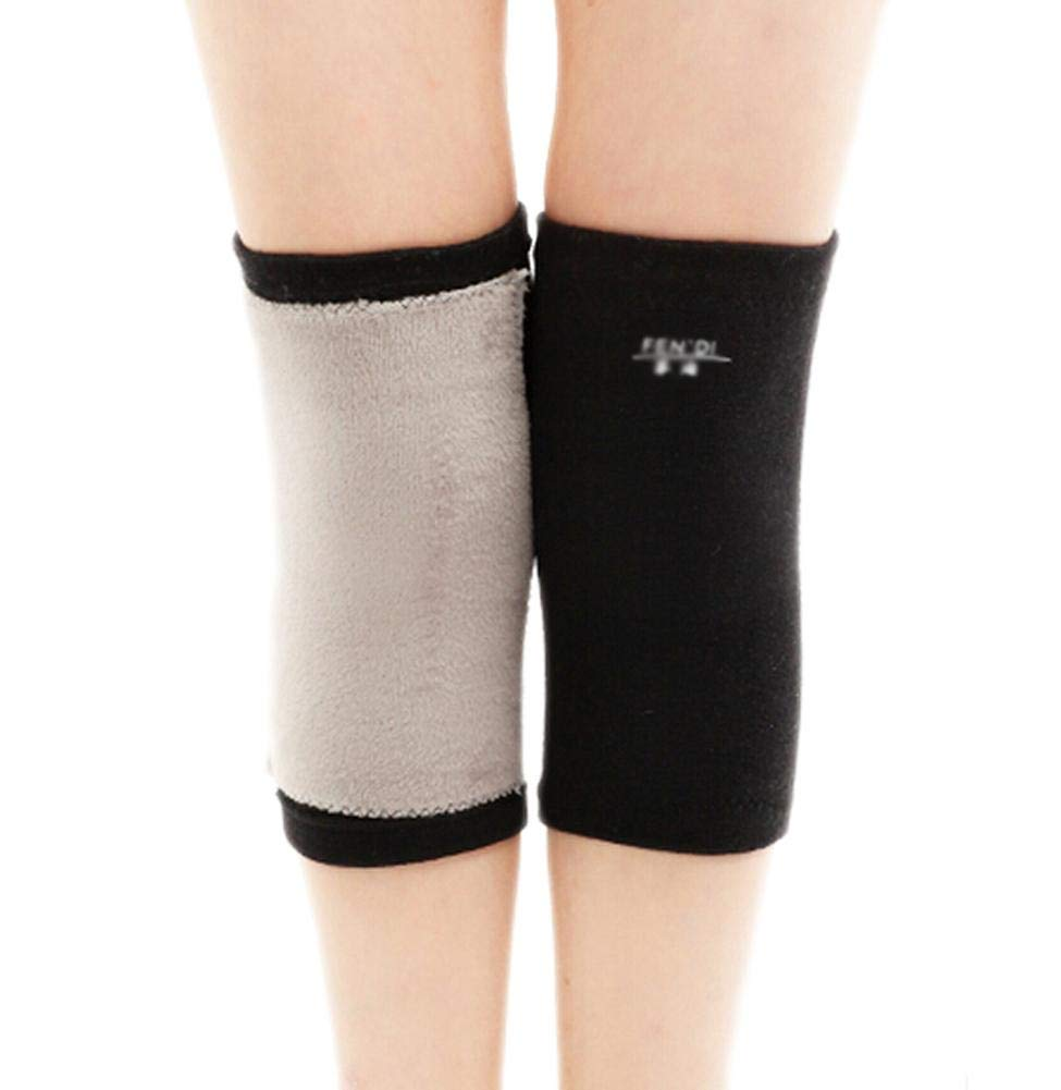 Soft Knee Brace Sleeve for Sports-Yoga-Dance-Arthritis-Joint Pain Black (m)