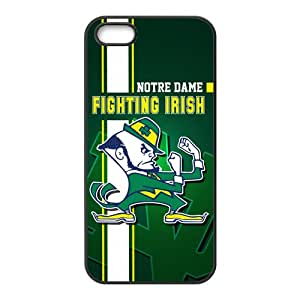 NCAA Notre Dame Fighting Irish Cell Phone Case for Iphone 5s