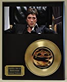 #3: Scarface Limited Edition Gold 45 Record Display. Only 500 made. Limited quanities. FREE US SHIPPING