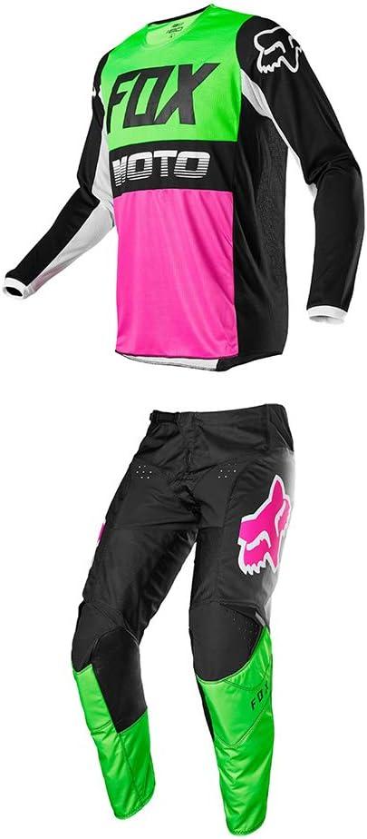 M//26 Fox Racing Youth 180 Fyce Jersey//Pants Set-