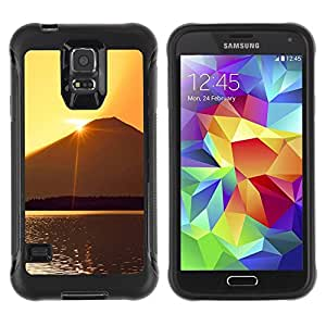 LASTONE PHONE CASE / Suave Silicona Caso Carcasa de Caucho Funda para Samsung Galaxy S5 SM-G900 / Sunset Beautiful Nature 60
