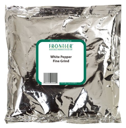 Frontier Pepper, White Fine Grind (40 Mesh), 16 Ounce Bag by Frontier (Image #1)