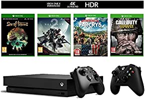 Xbox One X + COD WWII/Far Cry 5/Destiny 2/Sea of Thieves & 2nd Controller