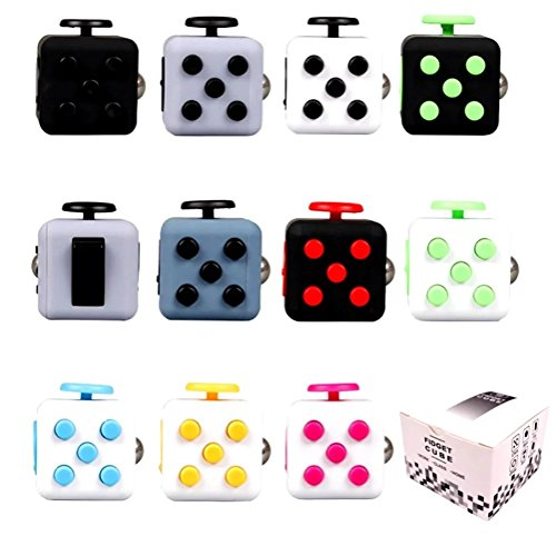 Fidget Cube Relieves Stress and Anxiety Attention Toy Spinner Fidget Toy