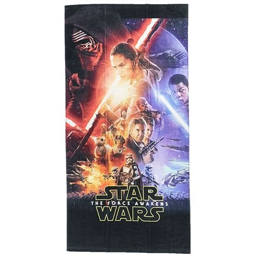 Marushin Star Wars Bath towel The force Awakens Poster