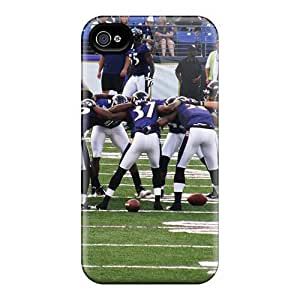 High Grade diy caseFlexible Tpu Case For iphone 6 4.7 - Baltimore Ravens
