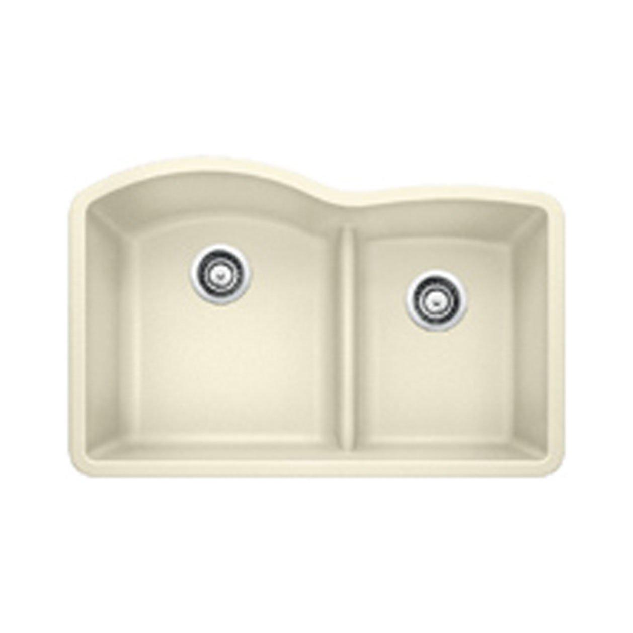 Large Bowl Kitchen Sink Blanco 441594 diamond 175 low divide under mount double bowl blanco 441594 diamond 175 low divide under mount double bowl kitchen sink large biscuit amazon workwithnaturefo