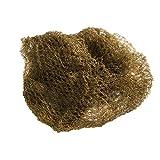 Aerborn Hairnets Heavy Weight Hair Net, Dark Brown, 2 per Pack