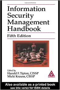 management of information security 5th edition pdf free download