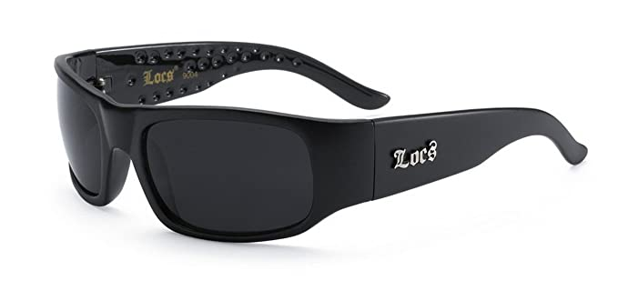 17771ba092 Amazon.com  LOCS Dark Sunglasses 6018  Clothing