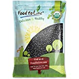 Organic Black Turtle Beans by Food To Live (Dried, Non-GMO, Kosher, Bulk) — 15 Pounds