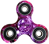 FORTUNE WHEEL Tri-Spinner Fidget Toy Hand Spinner Camouflage, Stress Reducer Relieve Anxiety and Boredom Camo (Starry sky)