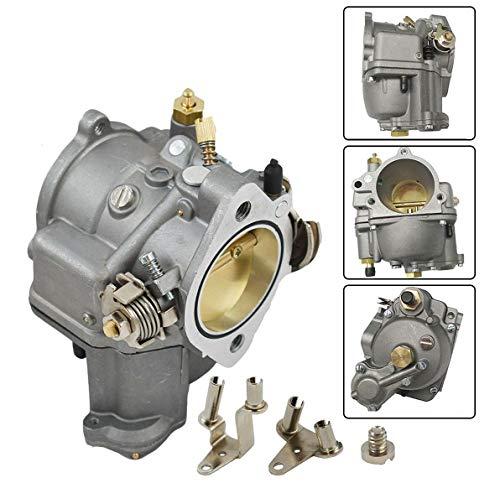 Shorty Carburetors - Reliable Carburetor Compatible w/Harley S&S Cycle Super E Shorty Big Twin/Sportster 0110-420 +Brackets