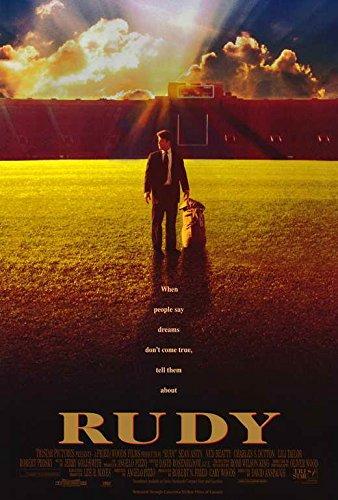 Rudy Movie POSTER 27 x 40, Vince Vaughn, Sean Astin, Ned Bea