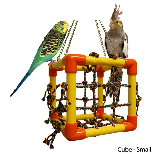 Zoo-Max Cube Hanging Bird Toy,