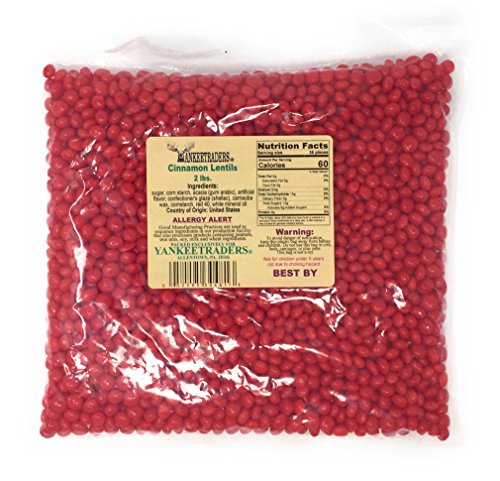 - Yankee Traders Candy, Cinnamon Lentil, 2 Pound