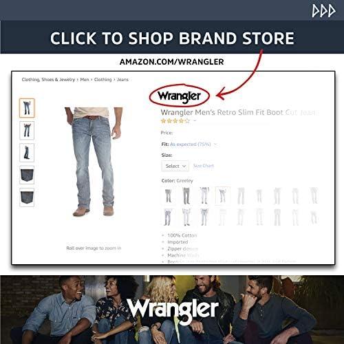 Wrangler Men's Silver Edition Grey Jean, 34x30