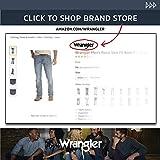 Wrangler Men's Retro Slim Fit Straight Leg