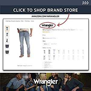 Wrangler Big & Tall Rugged Wear Classic Fit Jeans Uomo