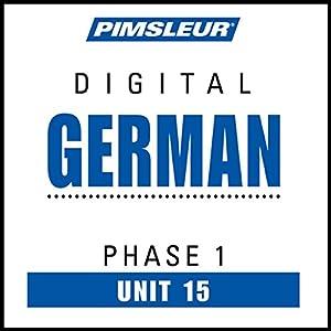 German Phase 1, Unit 15 Audiobook