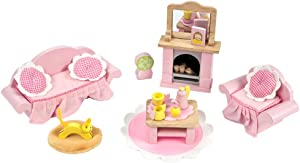 Le Toy Van Daisylane Sitting Room Premium Wooden Toys for Kids Ages 3 Years & Up
