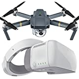 DJI Mavic PRO Portable Foldable Drone Kit W/ DJI Goggles 1080p HD Digital Video FPV First Person View Bundle w/ Free Remote Lanyard, iPhone Cable, Battery Bank, and Free Mini Drone