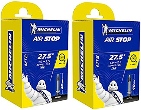 cyclingcolors 2X Camara DE Aire Michelin 27,5 x 1,90-2,50