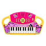 YAHAMA Kids Piano and Microphone Set 25 Key Electronic Keyboard Piano for Kids (Yellow)