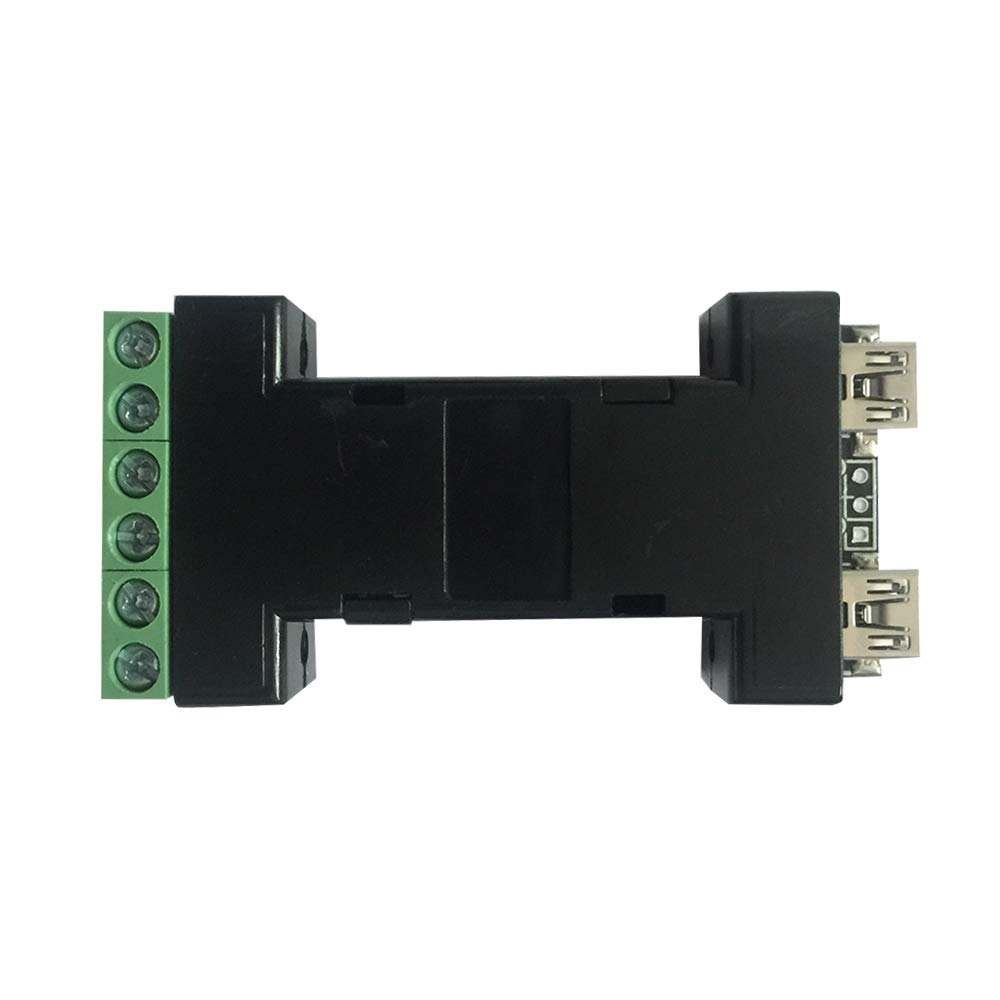 Wiegand Converter Wiegand to USB Wiegand to Serial RS232/PS2/ABA/TTL, Serial to Wiegand Converter, Up to 128 Bits Wiegand Data, Android/Linux/Widows/iOS(USB) by myownid