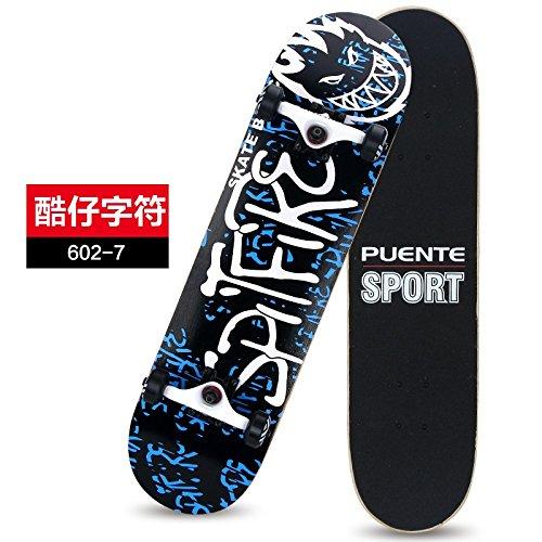 注入アラブ逃す[Mekarsoo]高品質スケートボード/31インチ テールキック メープルデッキ 【ABEC-9ベアリング採用、全6色】