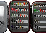 Ice Fishing Jig Tungsten 60 piece Jig Kit Jig Assortment, Dense, Quality, Durable Jigs with Waterproof Jig box Jig Case. Fishing Jig perfect for Crappie, Bluegill, and Perch fishing.