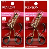 Revlon Cushion Grip Lash Curler Pack of 2 (Colors May Very)