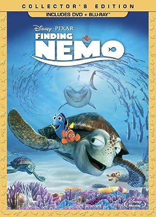 Amazon Com Finding Nemo Three Disc Collector S Edition Blu Ray