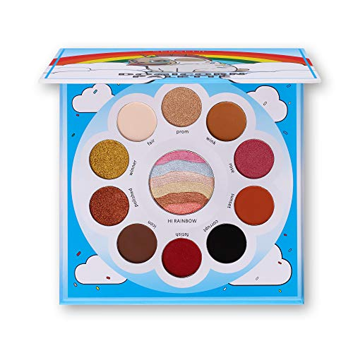 Serseul Pro Eyeshadow Palette for Eye Makeup Highly Pigmented Cosmetics 16 Color Range from Warm to Bronze 6 Matte 4 Shimmer 1 Glow Rainbow Long Lasting Cruelty Free, Paraben and Cruelty Free