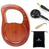 Lyre Harp, AKLOT 16 Metal Strings Bone Saddle