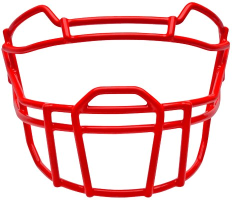 Schutt Sports Youth VROPO DW YF Carbon Steel Vengeance Football Faceguard, Scarlet